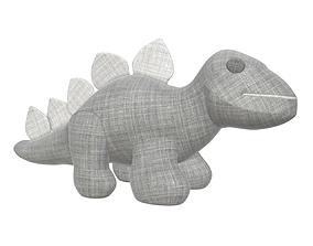 Dinosaur plush toy 3D