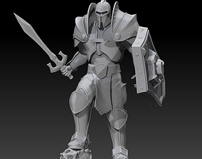 Arthas character of warcraft for 3d print