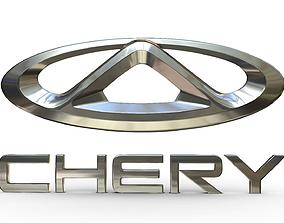 chery logo 2 3D model