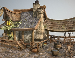 3D model BlackSmith Bulding