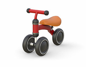 3D model Childrens mini tricycle v5