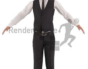 3D asset Eric 001 Rigged Business Man
