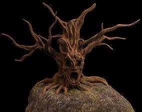tree fantasy druid 3D