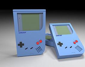 Game Boy Atari Tetris 3D model