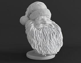 Santa Claus 3d Printable Bust