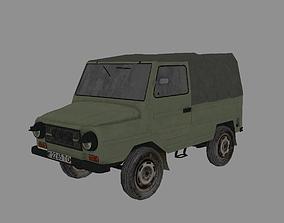 Soviet Vehicle LUAZ 969 3D asset