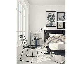 3D Bedroom Scandinavian