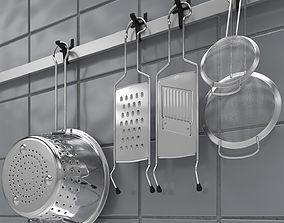 3D Kitchen Accessories Set 3