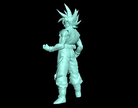Goku Ultra Instinct 3D print model