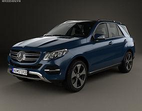 3D Mercedes-Benz GLE-Class W166 2014