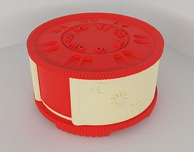 3D print model PillBox with seperated compartments for 7