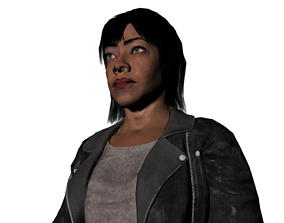 3D model Mia gang of black dogs