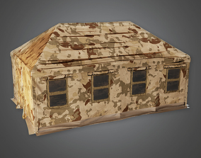 Military Tent 01 - MLT - PBR Game Ready 3D model