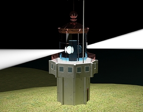 3D asset The Istanbul Light House