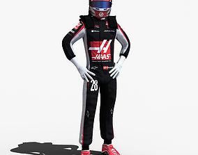 Kevin Magnussen 2017 3D asset