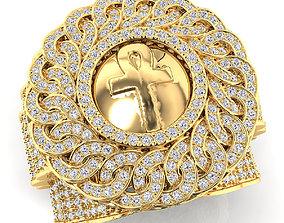 Big Mens Rolex Ring 3D print model