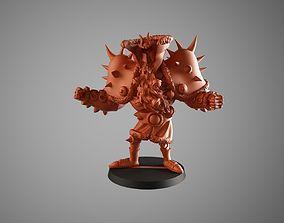 3D print model Santa warrior 3