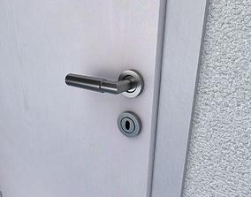 Room Door 3D asset