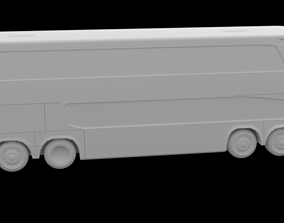 Simple BUS 1800 separated wheels STL for 3D