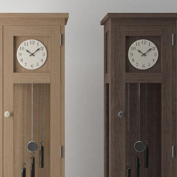 Grandfather Clock (Walnut & Oak)