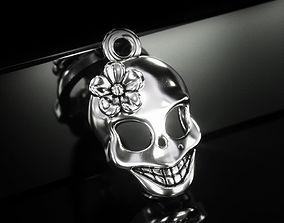 3D print model Skull Pendant P0003