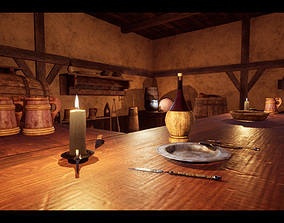 Medieval Prop Kit 3D model