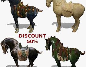 Horse Statuettes Collection volume 7 3D model