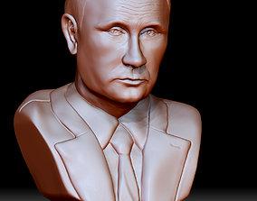 3D print model Vladimir Putin president sculptures