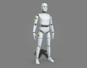 3D asset Robot Test Dummy