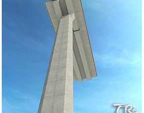 RAILWAY VIADUCT SECTION 3D