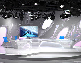 3D Virtual TV Studio 07