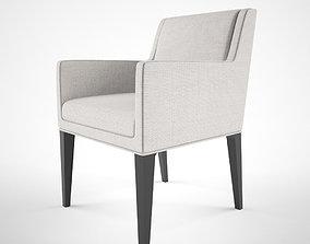 3D Bernhardt Design Claris chair