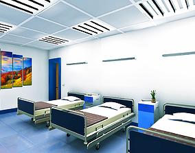Modular Realistic Hospital 3D model