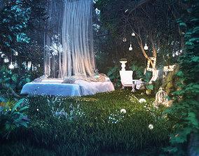 3D model Forest Scene 005