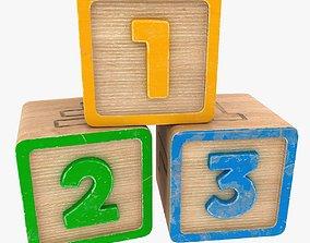 123 Blocks 3D model