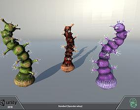 Alien flora - plant 11 3D model