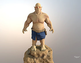 Ogre Fat Troll 3D model