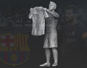 Lionel Messi 3D printing ready stl obj formats 3D print 1