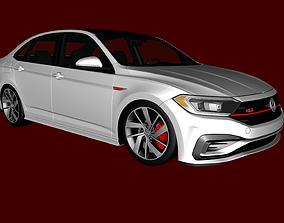 Volkwagen Jetta 2020 GLI 3D