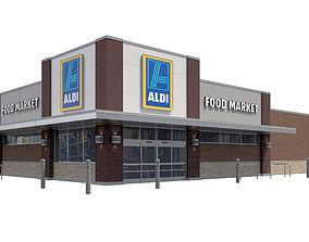 3D model Retail-032 Aldi-003