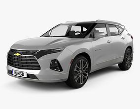 3D model Chevrolet Blazer Premier 2019