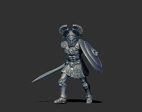 Greek hoplite - Aristeo 35 mm scale - 3D print model