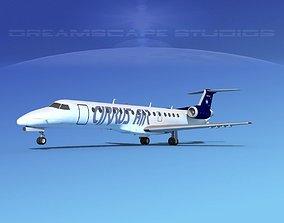 Embraer ERJ-140 Cirrus Air 3D