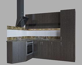 Kitchen Bruno modern 3D model