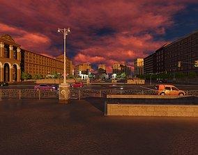 Crossroad City Street Game 3D