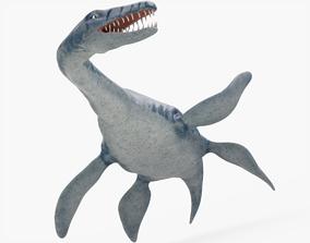 Plesiosaurus Rigged 3D asset