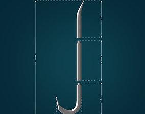 Crowbar from Half Life 3D printable model