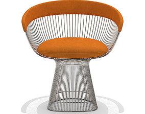 3D model Knoll Platner armchair