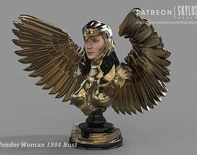 Wonder Woman 84 4th Scale Bust Display 3d print ready