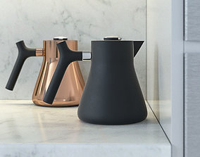 3D Raven And Stagg Kettle by Fellow